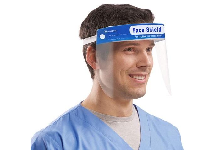 Visiera Protettiva Droplet Zero Antinebbia Proteggi Gli Occhi e Il Viso