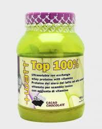 WATT TOP 100x100 PROTEINE DEL SIERO DEL LATTE GUSTO CREMA VANIGLIA - 750 G