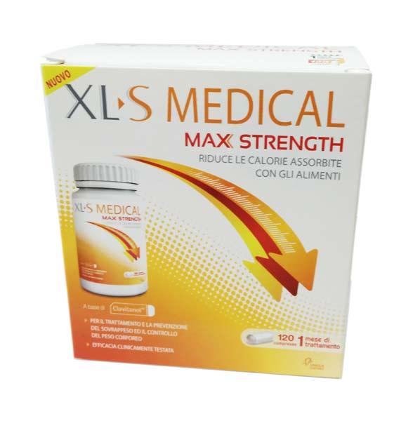 XLS MEDICAL MAX STRENGHT 120 COMPRESSE
