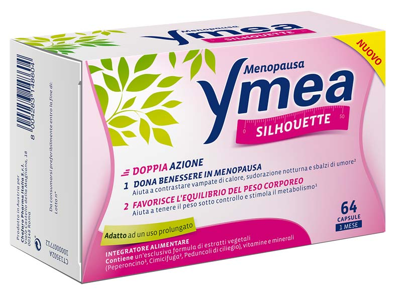 YMEA SILHOUETTE MENOPAUSA 64 CAPSULE
