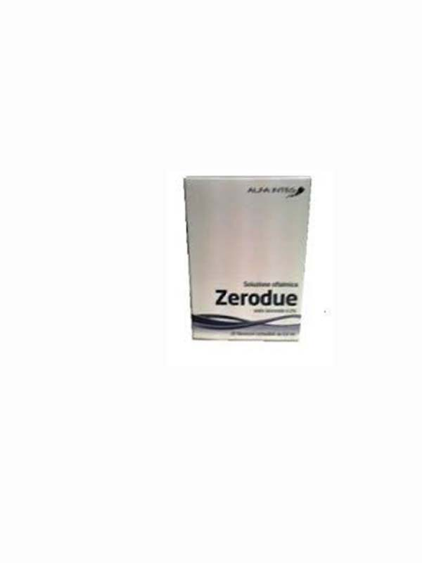 ZERODUE SOLUZIONE OFTALMICA  20 FLACONCINI DA 0,6 ML