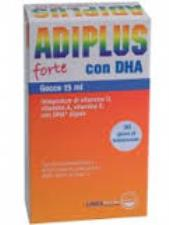 ADIPLUS FORTE GOCCE INTEGRATORE ALIMENTARE A BASE DI DHA E VITAMINE - 15 ML