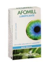 AFOMILL LUBRIFICANTE GOCCE OCULARI - 10 MONODOSE DA 0,5 ML