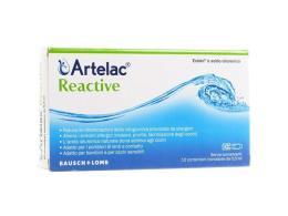 ARTELAC REACTIVE SOLUZIONE OFTALMICA 10 FIALE DA 0,5 ML