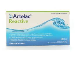 ARTELAC REACTIVE SOLUZIONE OFTALMICA 20 FIALE DA 0,5 ML