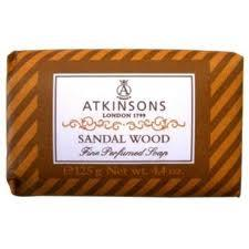 ATKINSONS SAPONE SANDAL WOOD - 125 GR