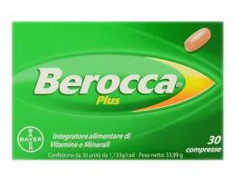 BEROCCA PLUS 30 COMPRESSE