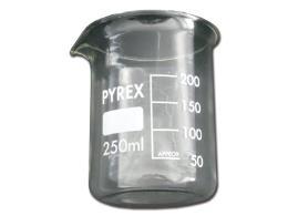 BICCHIERE IN VETRO 250 ml