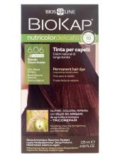 BIOKAP NUTRICOLOR DELICATO RAPID TINTA 6.06 BIONDO SCURO AVANA 135 ML