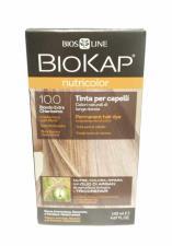 BIOKAP NUTRICOLOR TINTA 10.0 BIONDO EXTRA CHIARISSIMO 140 ML