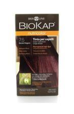 BIOKAP NUTRICOLOR TINTA 7.5 BIONDO MOGANO 140 ML