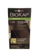 BIOKAP NUTRICOLOR TINTA DELICATO - 5.34 CASTANO CHIARO MIELE - 140 ML
