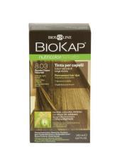 BIOKAP NUTRICOLOR TINTA DELICATO+ - 8.03 BIONDO CHIARO NATURALE - 140 ML