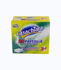 CASACHIARA PASTIGLIE 3 IN 1 LIMONE VERDE 25 PEZZI