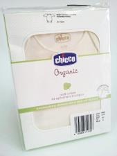 CHICCO ORGANIC - BODY MANICA LUNGA - 6 MESI