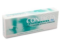 CONTACTA DAILY LENS YAL LENTI A CONTATTO MONOUSO GIORNALIERE 1,25
