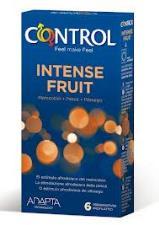 CONTROL ADAPTA INTENSE FRUIT 6 PROFILATTICI