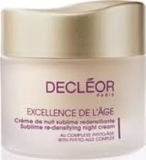 DECLEOR EXCELLENCE DE L'AGE - CREME DE NUIT SUBLIME REDENSIFIANTE - 50 ML