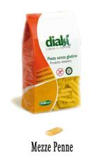 DIALSI PASTA SENZA GLUTINE - MEZZE PENNE - 500 G