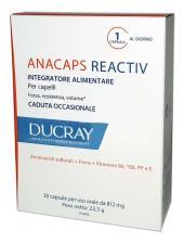 DUCRAY ANACAPS REACTIV 30 CAPSULE DA 812 MG