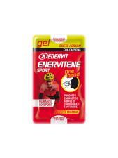ENERVIT ENERVITENE SPORT GEL ONE HAND GUSTO AGRUMI CON CAFFEINA - 2 MINIPACK DA 12,5 ML