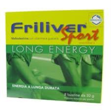 FRILIVER SPORT LONG ENERGY - 8 BUSTINE DA 30 G