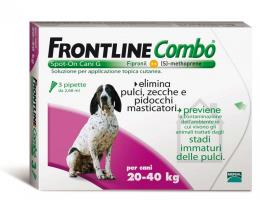 FRONTLINE COMBO SPOT ON CANI 20-40 KG 3 PIPETTE DA 2,68 ML