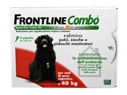 FRONTLINE COMBO SPOT ON CANI OLTRE 40 KG 3 PIPETTE DA 4,02 ML