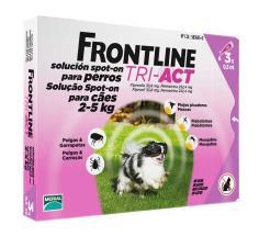 FRONTLINE TRI ACT SPOT ON CANI DA 2 A 5 KG 3 PIPETTE DA 0,5 ML