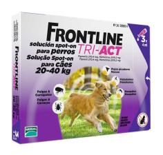 FRONTLINE TRI ACT SPOT ON CANI DA 20 A 40 KG 3 PIPETTE DA 4 ML