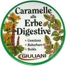 GIULIANI CARAMELLE ALLE ERBE DIGESTIVE - 60 G