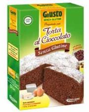 GIUSTO SENZA GLUTINE - PREPARATO PER TORTA AL CIOCCOLATO - 400 G