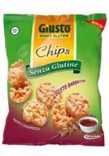 GIUSTO SENZA GLUTINE CHIPS GUSTO BARBECUE 30 G