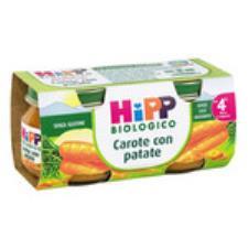 HIPP OMOGENEIZZATO CAROTE CON PATATE - DAL QUARTO MESE - 2 x 80 G