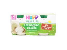 HIPP OMOGENEIZZATO FORMAGGINO CLASSICO - DAL QUARTO MESE - 2 x 80 G