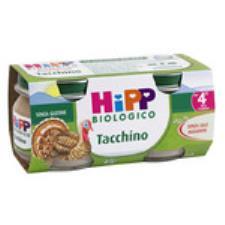 HIPP OMOGENEIZZATO TACCHINO - DAL QUARTO MESE - 4 x 80 G