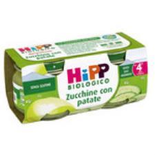 HIPP OMOGENEIZZATO ZUCCHINE CON PATATE - DAL QUARTO MESE - 2 x 80 G
