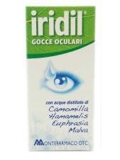 IRIDIL GOCCE OCULARI RINFRESCANTE E LENITIVO 10 ML