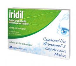 IRIDIL GOCCE OCULARI RINFRESCANTE LENITIVO 10 FIALE DA 0,5 ML