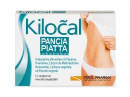 KILOCAL PANCIA PIATTA INTEGRATORE PER FAVORIRE LA DIGESTIONE - 15 COMPRESSE