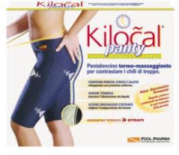 KILOCAL PANTY PANTALONCINO TERMO MASSAGGIANTE TAGLIA XL