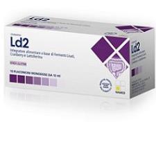 LD2 ADULTI - INTEGRATORE DI FERMENTI - 10 FLACONCINI MONODOSE DA 10 ML
