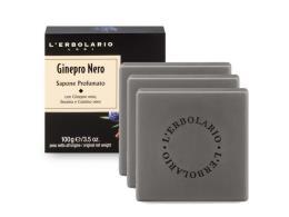 L'ERBOLARIO GINEPRO NERO SAPONE PROFUMATO 3 x 100 G