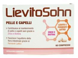 LIEVITO SOHN PELLE E CAPELLI 60 COMPRESSE