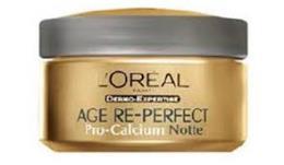 L'OREAL DERMO EXPERTISE AGE RE PERFECT PRO CALCIUM CREMA NOTTE - 50 ML