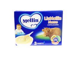 MELLIN LIOMELLIN MANZO LIOFILIZZATO DAL QUARTO MESE 3 VASETTI DA 10 G