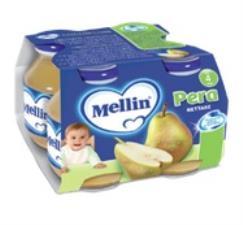 MELLIN NETTARE ALLA PERA DA 4 A 36 MESI 4 x 125 ML