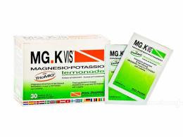 MGK VIS INTEGRATORE MAGNESIO POTASSIO LEMONADE - 30 BUSTINE DA 4 G