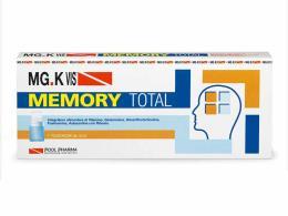 MGK VIS MEMORY TOTAL INTEGRATORE ENERGETICO PER L'ATTIVITA' MENTALE - 7 FLACONCINI DA 10 ML