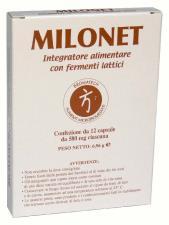 MILONET INTEGRATORE BROMATECH 12 CAPSULE
